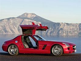 Mercedes-Benz SLS AMG už má českou cenu: titulní fotka
