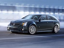 Cadillac CTS-V Sport Wagon: namachrovaný stěhovák: titulní fotka