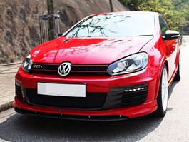 Volkswagen Golf GTI Razor: kompletní body kit od RevoZport: titulní fotka