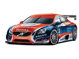Volvo S60 za pár dní vstoupí do okruhových závodů cestovních vozů: titulní fotka