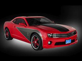 Legendární George Barris upravuje Chevrolet Camaro: titulní fotka