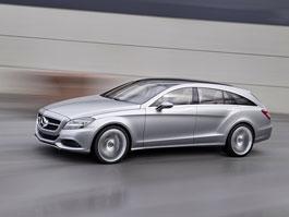 Mercedes CLS Shooting Break Concept: čtyřdveřové kupé i jako kombi: titulní fotka