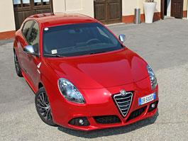 Za volantem: Alfa Romeo Giulietta Quadrifoglio Verde: titulní fotka