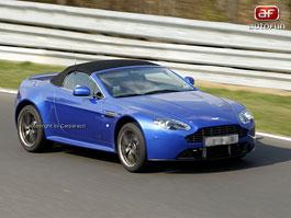Spy Photos: Aston Martin V8 Vantage Roadster: titulní fotka