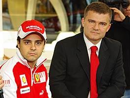Felipe Massa otevřel v Praze showroom Ferrari: titulní fotka
