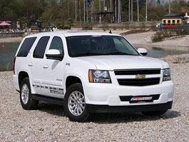 Chevrolet Tahoe Hybrid Tri-Mode: LPG od GeigerCars: titulní fotka