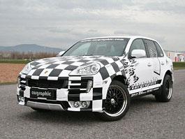 Cargraphic oslavuje 25. výročí upraveným Porsche Cayenne: titulní fotka