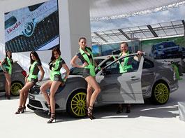 Škoda Octavia RS+ a Fabia RS+ na Wörthersee: titulní fotka