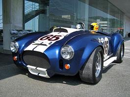 Baby Cobra: tříčtvrteční replika slavného roadsteru: titulní fotka