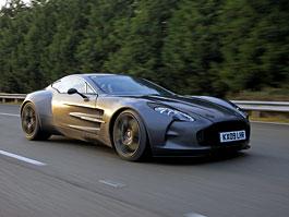 Aston Martin One-77: Desítka vozů poputuje na Střední východ: titulní fotka