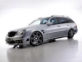 Mercedes-Benz třídy E Black Bison: W211 i W212 od Wald International: titulní fotka