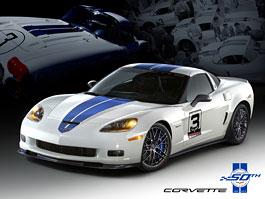 Corvette oslavuje 50 let od svého prvního startu v Le Mans: titulní fotka