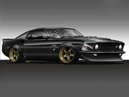 Vaughn Gittin Jr. a jeho Mustang ve stylu šedesátých let: titulní fotka
