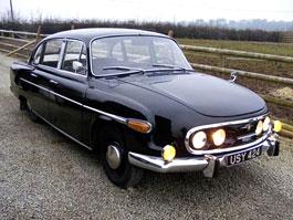 Tatra 603: jeden kousek na prodej až daleko v USA: titulní fotka