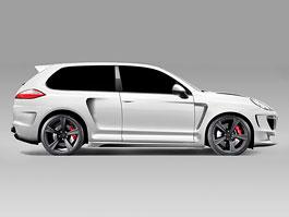 Porsche Cayenne Turbo: SUV chudší o jeden pár dveří: titulní fotka