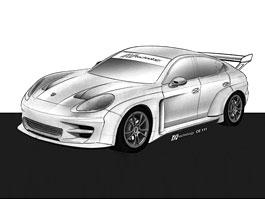 Závodní Porsche Panamera již brzy k vidění i na okruzích: titulní fotka