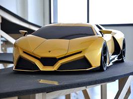 Lamborghini Cnossus: studentská inspirace pro Sant´ Agatu: titulní fotka