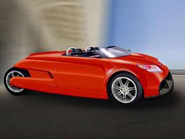 T3 Motion GT3: elektřinou poháněný roadster: titulní fotka