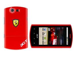 Acer Ferrari Liquid E: hodně chytrý (a taky hodně červený) mobil: titulní fotka