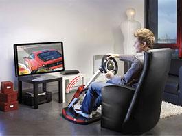 Thurstmaster Ferrari Wireless GT Cockpit 430 Scuderia Edition: Scuderia v obýváku: titulní fotka