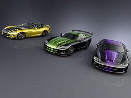 Dodge Viper SRT10: tři různé verze v rámci Dealer Exclusive Program: titulní fotka