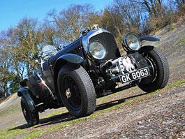 Bentley 4,5 Litre Vanden Plas Open Tourer a jeho historie: titulní fotka