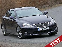 Test: Lexus IS F-Sport: Na půl cesty: titulní fotka