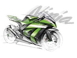 Kawasaki ZX-10R Ninja 2011 – zelená výzva: titulní fotka