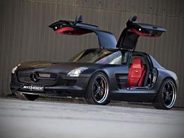 Mercedes-Benz SLS AMG Black Edition: matná čerň od Kicherer: titulní fotka