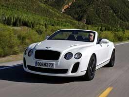 Bentley Continental Supersports Convertible: nové foto a video: titulní fotka