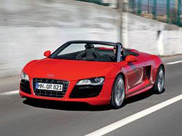 Audi R8 Spyder: po Paříži i s osmiválcem: titulní fotka