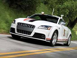 Audi TTS Pikes Peak: nový vzhled a cíl pro kupé bez řidiče: titulní fotka