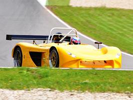 Mičánek testoval prototyp PICCHIO LMP2: titulní fotka