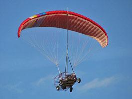 i-tec Maverick: automobil létající na padáku: titulní fotka