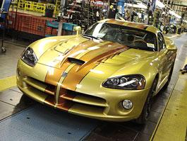 Dodge Viper: poslední vůz opustil výrobní linku: titulní fotka