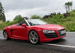 Za volantem: Audi R8 Spyder V10 5.2 quattro: titulní fotka