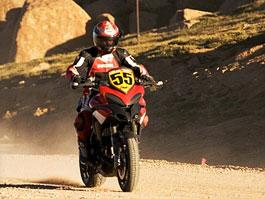 Ducati Multistrada 1200 vítězí na Pikes Peak: titulní fotka