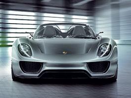 Porsche 918 Spyder: cena stanovena na půl milionu euro: titulní fotka