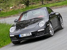 Za volantem: Porsche 911 Carrera 4S: titulní fotka