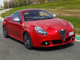 Alfa Romeo Giulietta: kupé alias Sprint je možná na cestě: titulní fotka