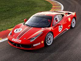 Ferrari 458 Challenge: nový stroj pro značkový pohár: titulní fotka