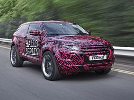 Land Rover Evoque: barevné prototypy budou lákat měšťáky: titulní fotka