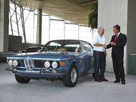 Krásné BMW 3.0 CSi z roku 1972: díky Classic Centru opět ve formě: titulní fotka