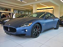 Maserati GranTurismo S MC Line Edizione Speciale: dva kusy pro Česko: titulní fotka