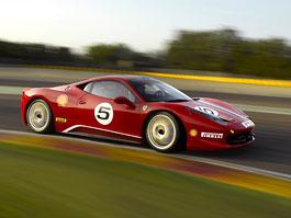 Ferrari 458 Challenge v akci: foto z okruhu Vallelunga: titulní fotka