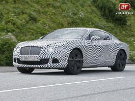 Spy Photos: Facelift kupé Bentley Continental GT už za 5 dní: titulní fotka