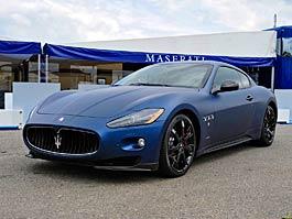 Maserati GranTurismo S MC Line Edizione Speciale: česká premiéra v Brně: titulní fotka