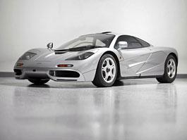 McLaren F1: vzácný supersport míří do aukce: titulní fotka