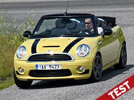 Test: Mini Cooper S Cabrio: Zběsilý kočkolap: titulní fotka