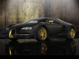 Mansory LINEA Vincero d'Oro: karbon a zlato pro Bugatti Veyron: titulní fotka